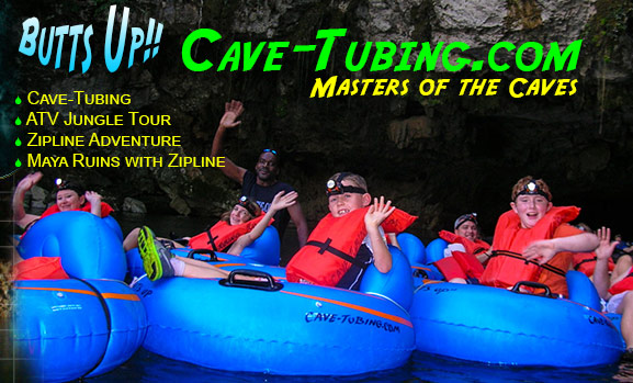 Cave-Tubing, ATV Jungle Tours and Zipline Tours