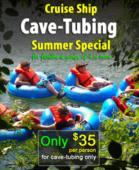 Belize Cave Tubing Summer Special 2015